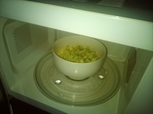 Step 2: microwave in high heat for 10 minutes
