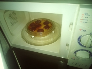 microwave for five minutes