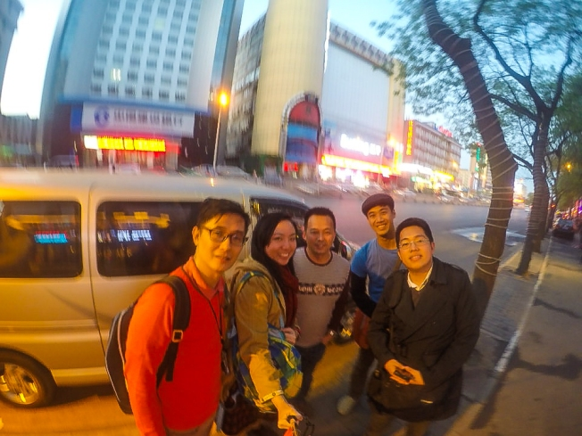 Another blurred picture with Mr. Shi before parting ways