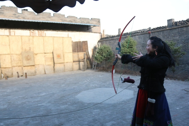 Training the bow and arrows